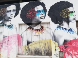 Fresque murale FINDAC - Carthagène des Indes